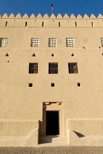 Stock Photo: 1597-72112  Murabbaa fort, Al Ain, Abu Dhabi, old, O