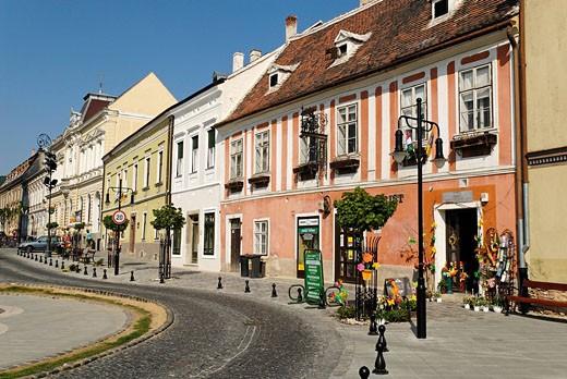 historical, Old Town, Köszeg, Hungary, E : Stock Photo
