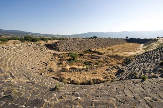 Turkey, June 2008, Aphrodisias, ancient : Stock Photo