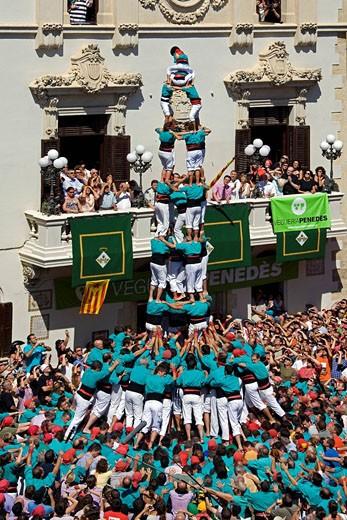 Spain, August 2008, Catalonia, Villafran : Stock Photo
