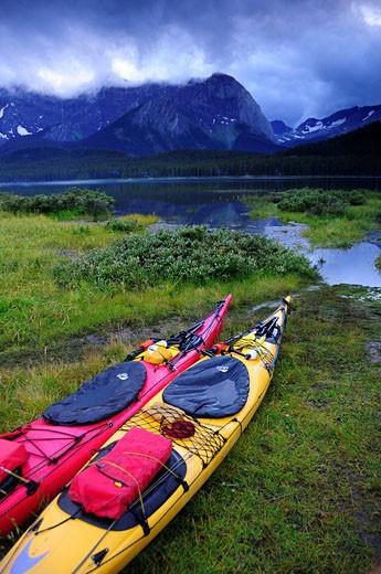 Canada, Lower Kananaskis Lake, Peter Lou : Stock Photo