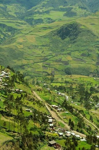 Ecuador, Andes Mountains, near Alousi, v : Stock Photo