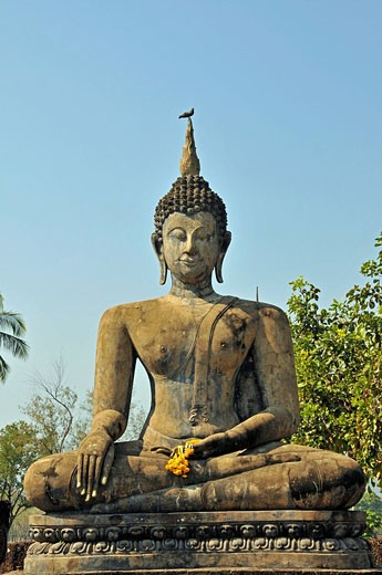 Wat Mahathat, ancient Sukhothai, Thailan : Stock Photo