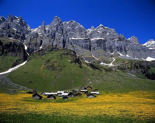 alps, alpine, mountain, mountains, Jägerstöcke ran : Stock Photo