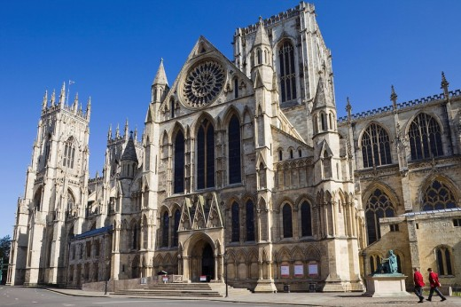 England, Yorkshire, York, York Cathedral : Stock Photo
