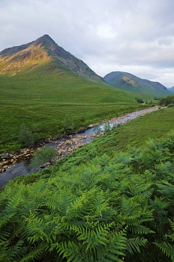Stock Photo: 1597-76764 Scotland, Highland Region, Glen Coe