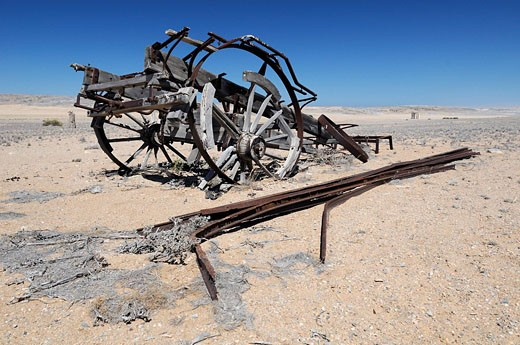 Stock Photo: 1597-78677 remains, mining, Sperrgebiet, Prohibited Area, Diamond Area 1, Luderitz, Karas Region, Namibia, Africa, Travel, Nature