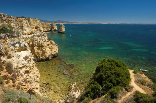 Ponta da Piedade, Algarve, Portugal : Stock Photo