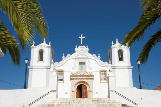 Kirche in Estobar, Algarve, Portugal : Stock Photo