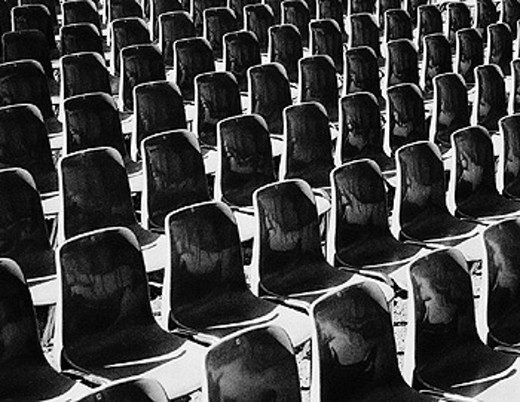 assembly hall, conference, rows, hall, black and white, seminar, seats, chair, chairs, chair rows, talk, : Stock Photo