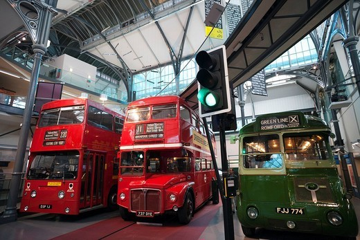 England, London, London Transport Museum : Stock Photo