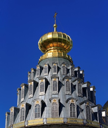 Stock Photo: 1597-85968 Resurrection cathedral, 1685, New Jerusalem monastery, Istra, Moscow region, Russia