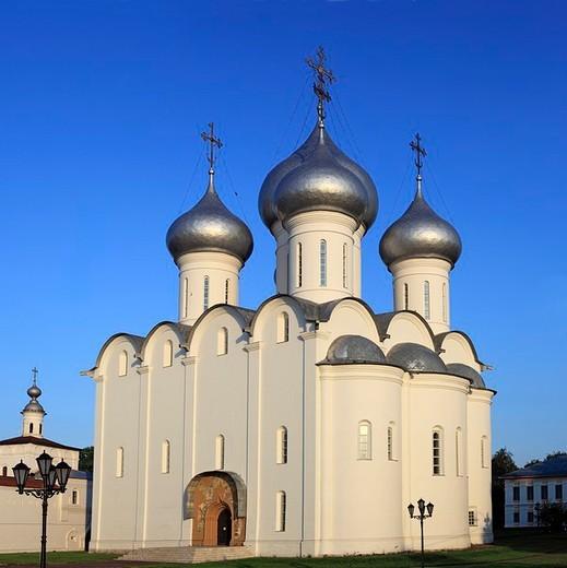 St. Sophia cathedral, 16 century, Vologda, Vologda region, Russia : Stock Photo