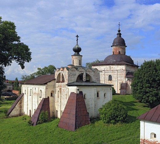 Stock Photo: 1597-86004 Kirillo_Belozersky Monastery, Kirillov, Vologda region, Russia