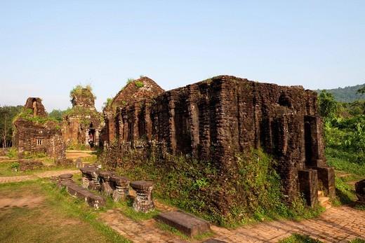Stock Photo: 1597-86573 Vietnam, My Son, Cham Ruins