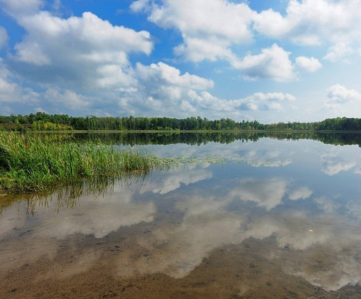 Lake near Hibbing, Minnesota, USA : Stock Photo