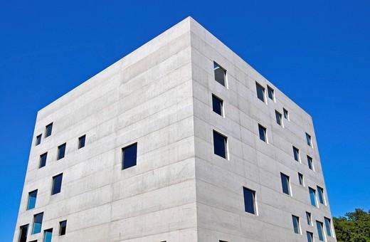 Zollverein School of Management and Design GmbH i. L., eröffnet 2006, Architekturbüro SANAA / Tokio, Zeche Zollverein, Essen, Nordrhein_Westfalen, Deutschland, Europa : Stock Photo