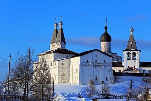 Ferapontov Monastery, Ferapontovo, Vologda region, Russia : Stock Photo