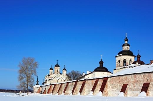 Stock Photo: 1597-92227 Towers of Kirillo_Belozersky Monastery, Kirillov, Vologda region, Russia