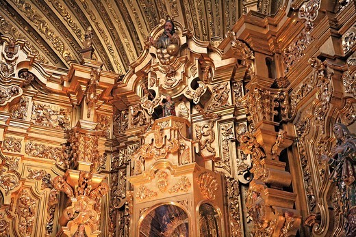 Stock Photo: 1597-92290 Church of Carmen, 1768, San Luis Potosi, state San Luis Potosi, Mexico