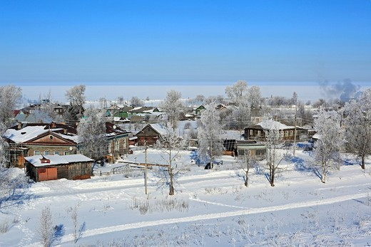 Belozersk, Vologda region, Russia : Stock Photo