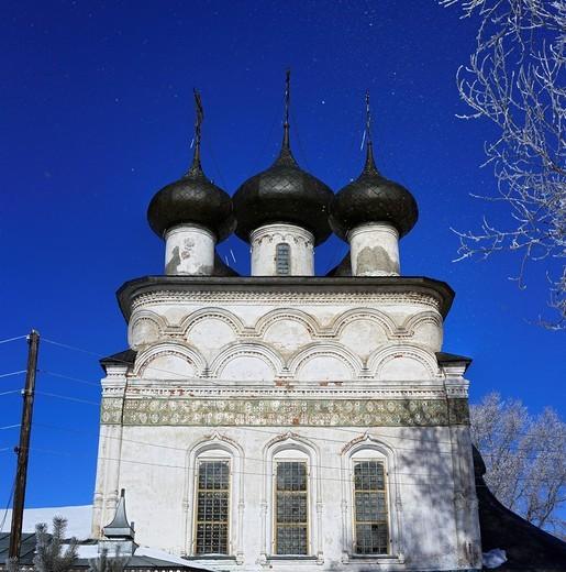 Church of the Saviour, 1723, Belozersk, Vologda region, Russia : Stock Photo