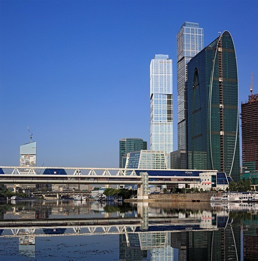 Moscow International Business Center, Moscow_City, Moscow, Russia : Stock Photo