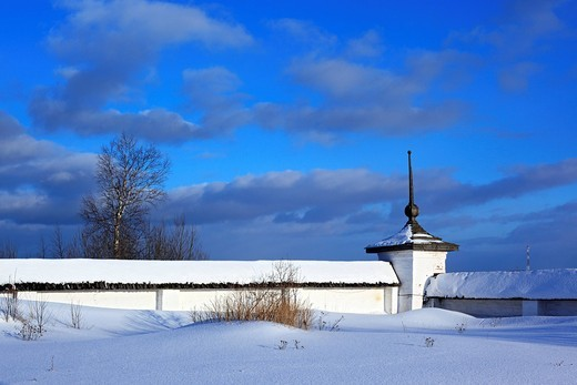 Stock Photo: 1597-92820 Ferapontov Monastery, Ferapontovo, Vologda region, Russia