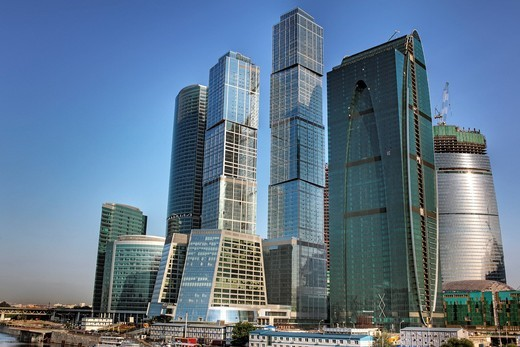 Stock Photo: 1597-95151 Moscow International Business Center, Moscow_City, Moscow, Russia