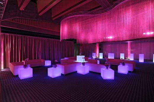 Event, company evening, night club, loun : Stock Photo