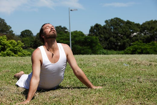 Stock Photo: 1598R-10000202 Yoga Guru