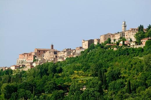 Stock Photo: 1598R-10000605 Italy. Tuscany. Montepulciano.
