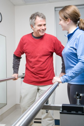 Center for Rehabilitation, Physical Therapy : Stock Photo