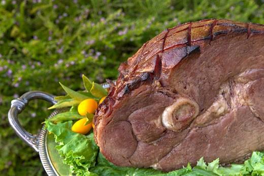 Holiday Ham : Stock Photo