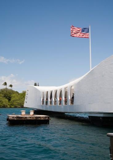 Stock Photo: 1598R-10008431 National Park, Pearl Harbor, Oahu, Hawaii, USA