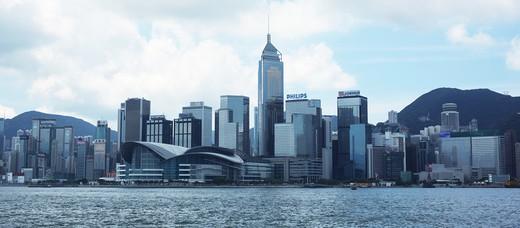 Stock Photo: 1598R-10012797 Hong Kong cityscape.