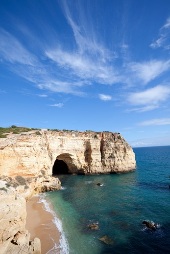 Stock Photo: 1598R-10012906 Awesome seascape in Portugal