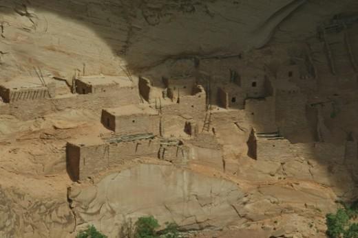 Stock Photo: 1598R-10016413 Anasazi ruins
