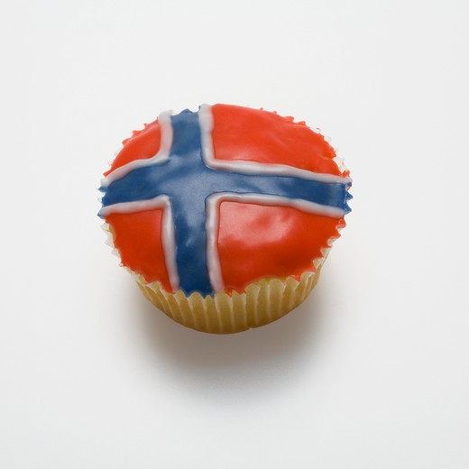 Stock Photo: 1598R-10018100 Norwegian, fairy cake, icing