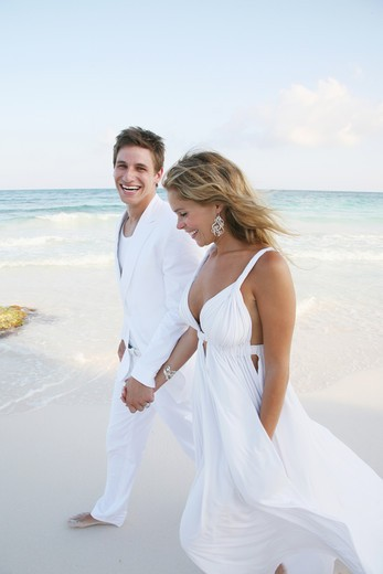 Caribbean water, Riviera-Maya, Destination wedding : Stock Photo