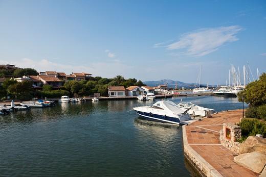 Stock Photo: 1598R-10021913 Porto Rotondo is among the top destination in Sardinia
