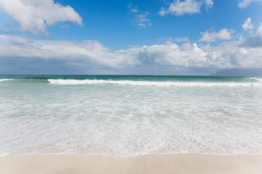 picture of the perfect ocean beach : Stock Photo