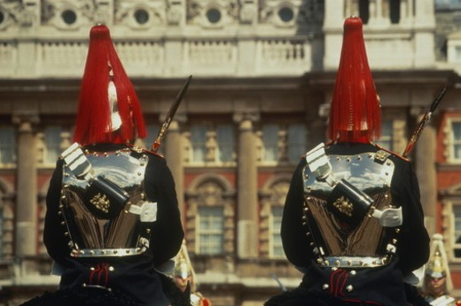 Stock Photo: 1598R-10058603 England, London, Horse Guards during the Changing of the Guards