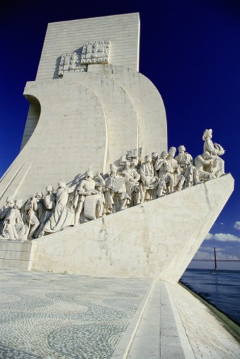Portugal, Lisbon, Monument to the Discoveries : Stock Photo