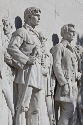 'The Spirit of Sacrifice,' the Cenotaphby sculptor Pompeo Coppini : Stock Photo