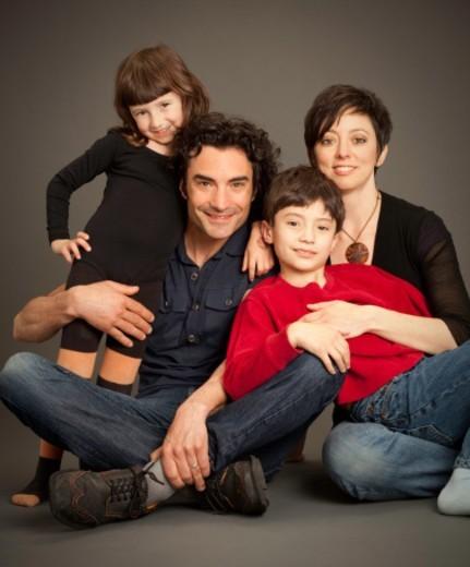 Family portrait. : Stock Photo