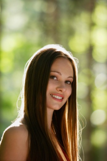 Stock Photo: 1598R-10078253 Portrait of young woman