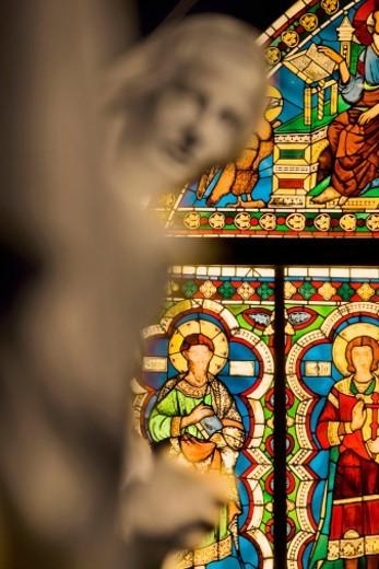 Rose Windows, Siena Cathedral, Siena, Tuscany, Italy : Stock Photo