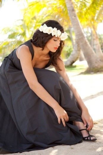 Stock Photo: 1598R-10083068 pretty Latin Bride