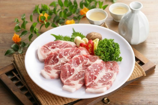 Raw meat : Stock Photo
